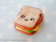 "Kawaii charme de Microsoft ""sandwich"" polymer clay"