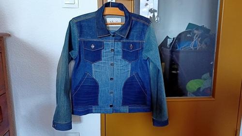 Une veste recyclée à la pointe de la mode
