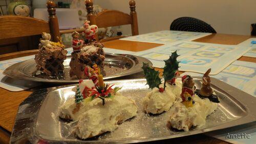 Mini bûches de Noël