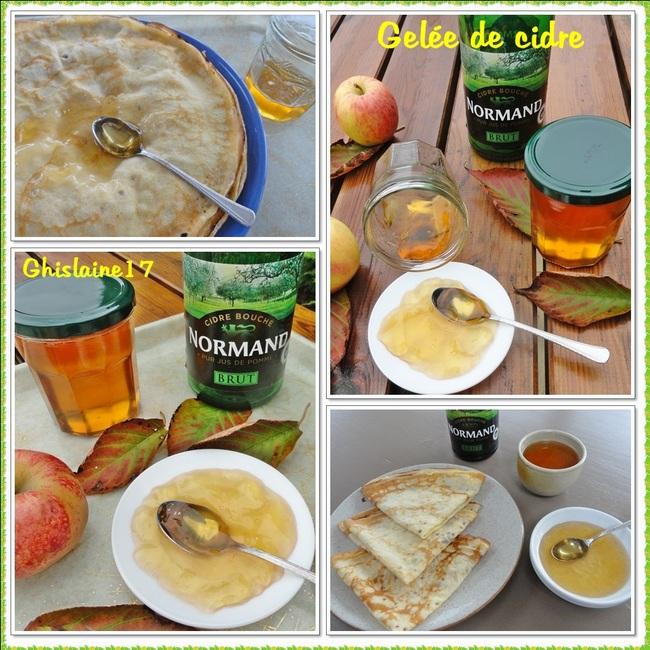 Gelée de cidre + crêpes