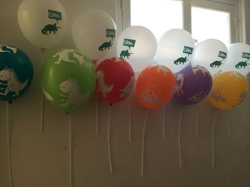 """Un anniversaire """"dinosaures"""" sobre et de bon gout...ou presque #2 (suite et fin)"""