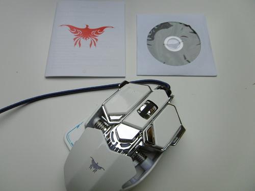 Souris gamer Easy SMX ailes de combattant