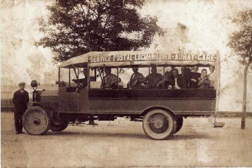 Les autocars - service postal