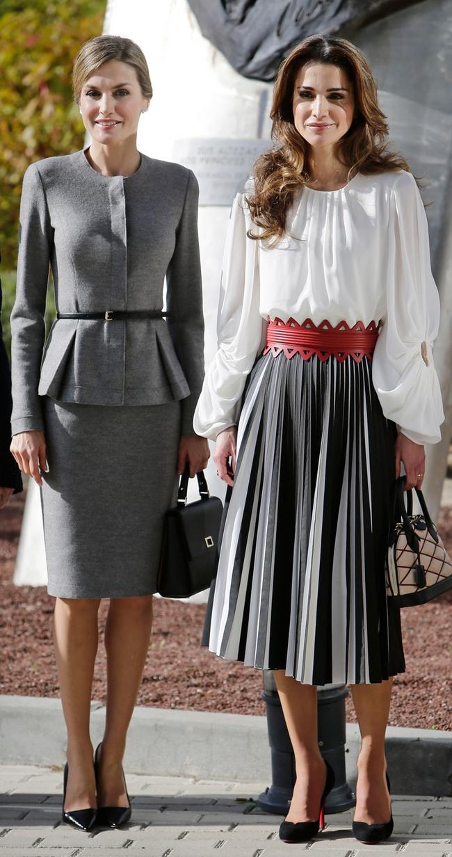 Letizia et Rania