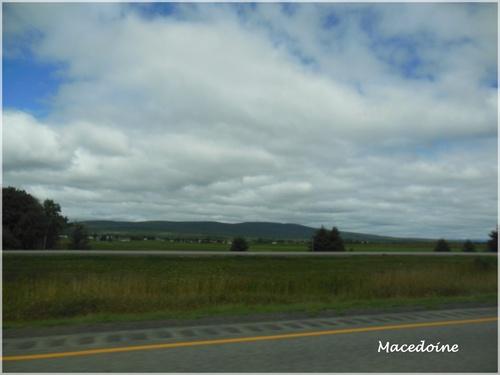 En route pour la ville de Québec.