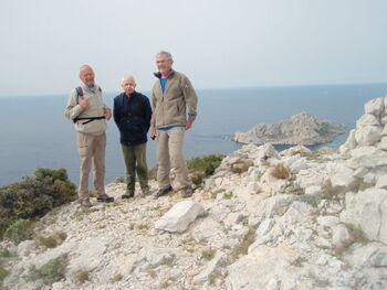 Au sommet du roc St Michel