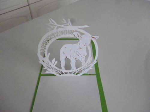 Kirigami Pâques