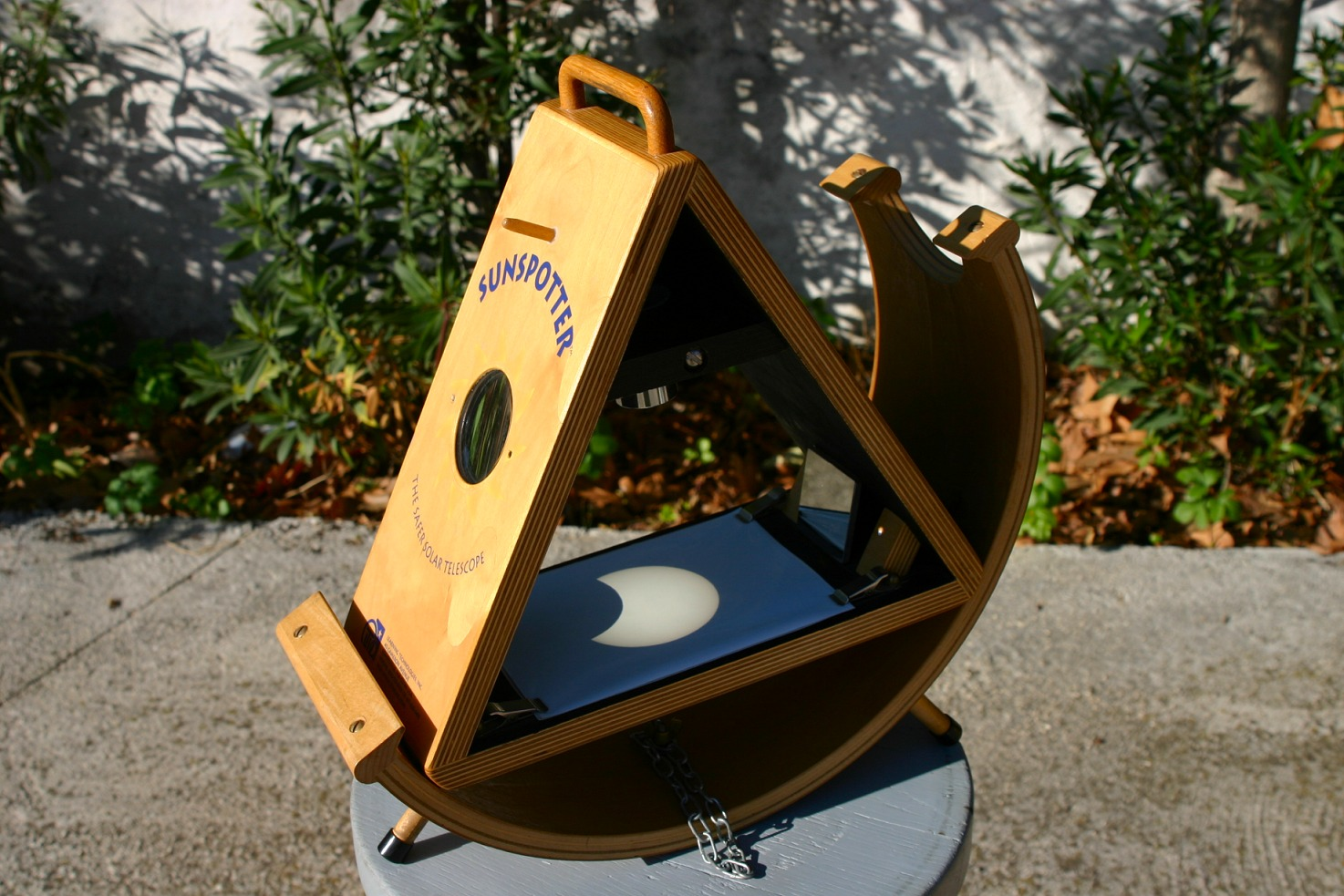 sunspotter éclipse