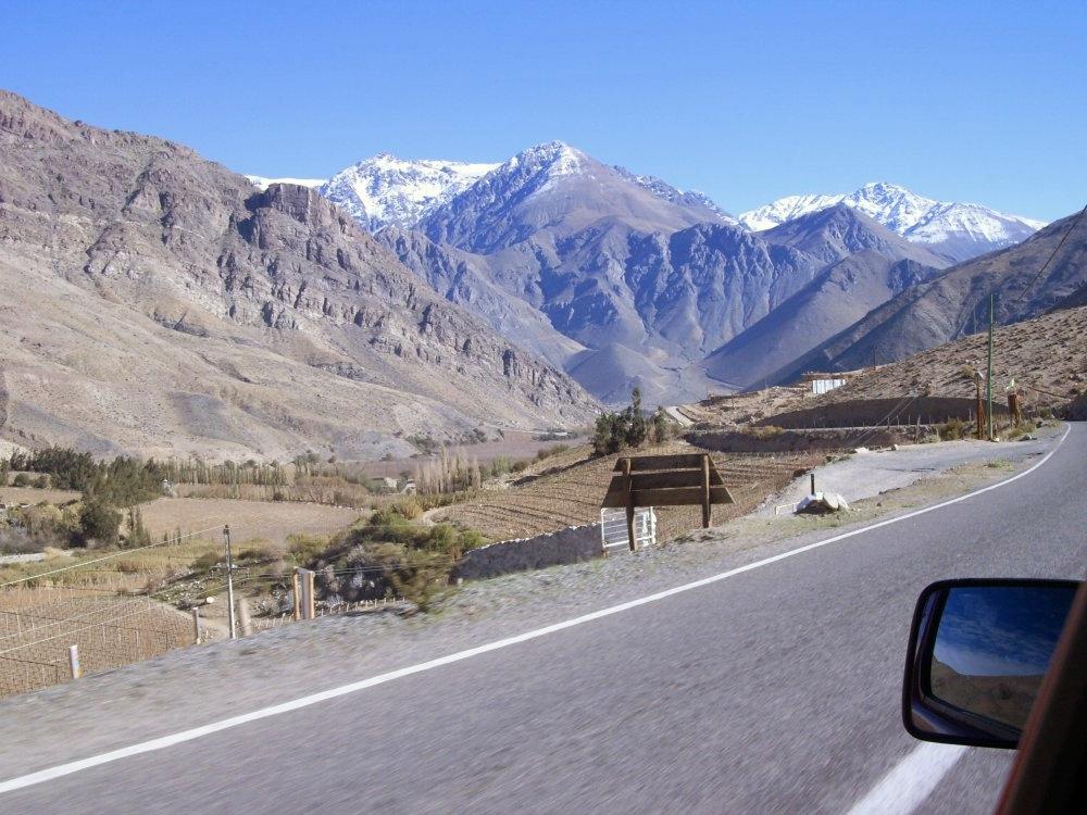 paysage vallée del elqui