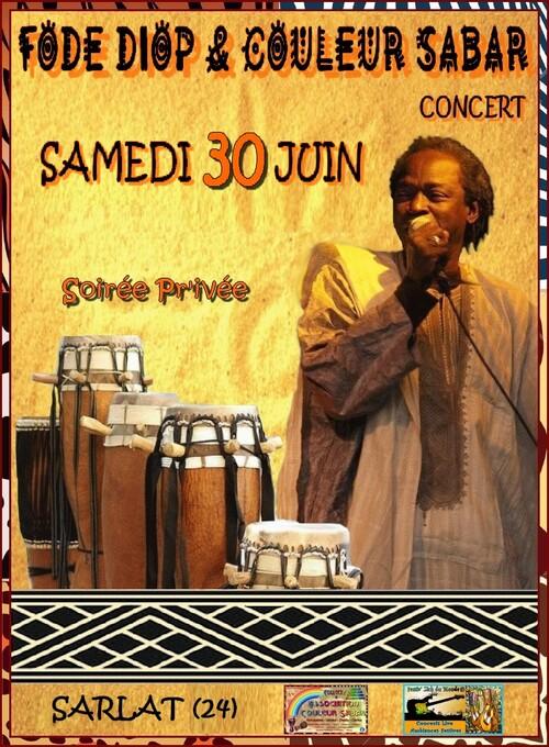 ★ Concert & Taneber | Fodé Diop & Couleur Sabar [Samedi 30 Juin 2018]