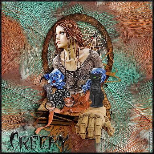 Feeling Ghostly  by dentelle scrap art