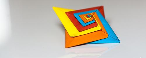 origami spirale (tomoko fuse)