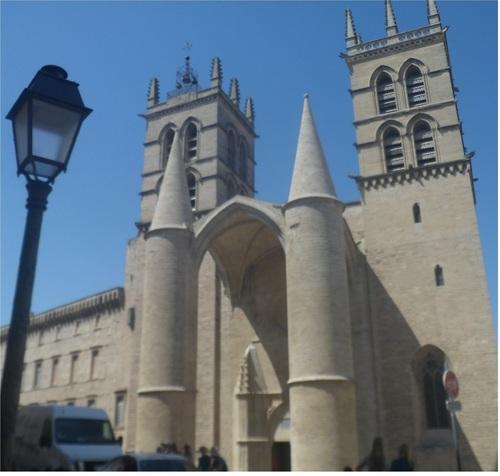 MONTPELLIER CENTRE, Cathédrale, Eglise Ste-Anne