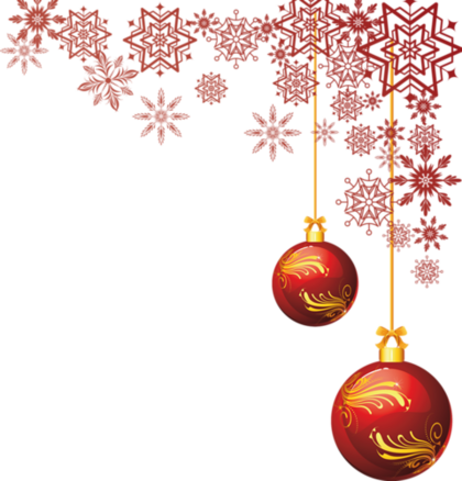 Spécial  Noel / Nouvel An - Tubes Les coins