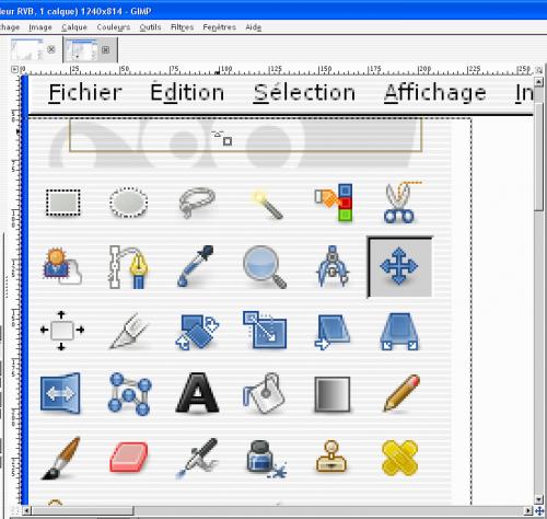 [tuto GIMP 2.8] Rogner (recadrer) une image