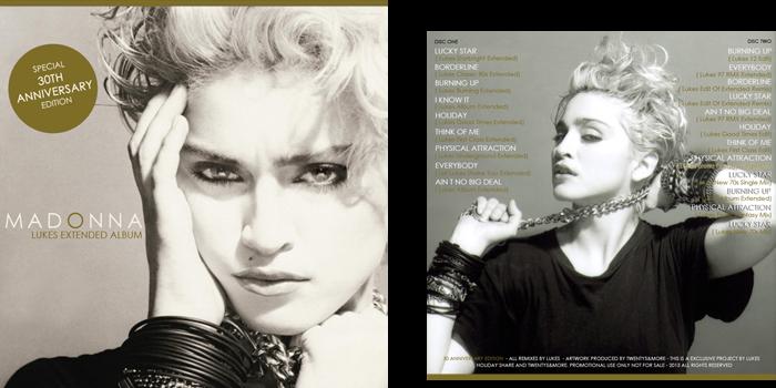 Madonna First Album Extended Album