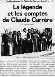Claude Carrère : Chante, Chante, Chante...