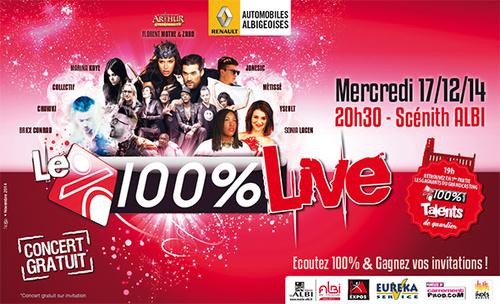 100% Radio - Live Albi