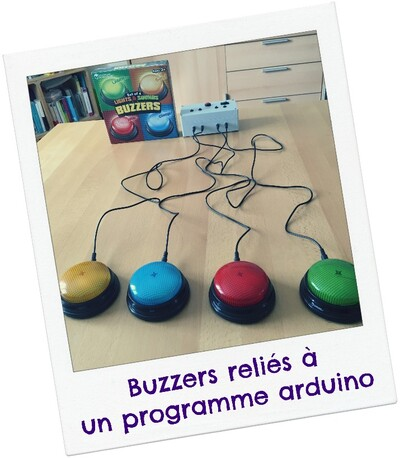 Amélioration des buzzers en couleurs