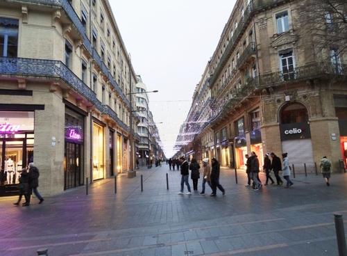 Diverses vues de Toulouse en fin d'année (photos)