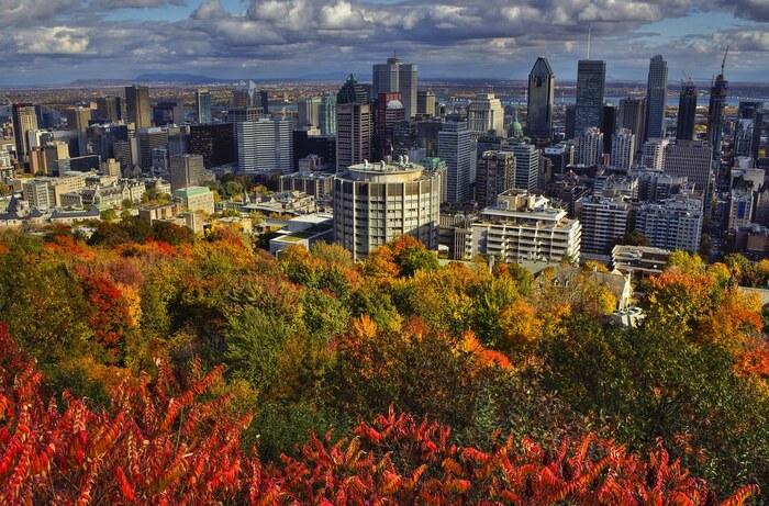 Balade À Montréal En Automne