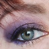 Make-up Purple Rain & son éclipse solaire