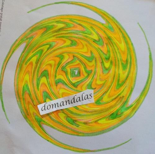 DOMANDALAS   mes derniers coloriages de mandalas 3