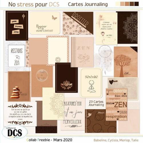 No Stress pour Dcs- Les petites cartes