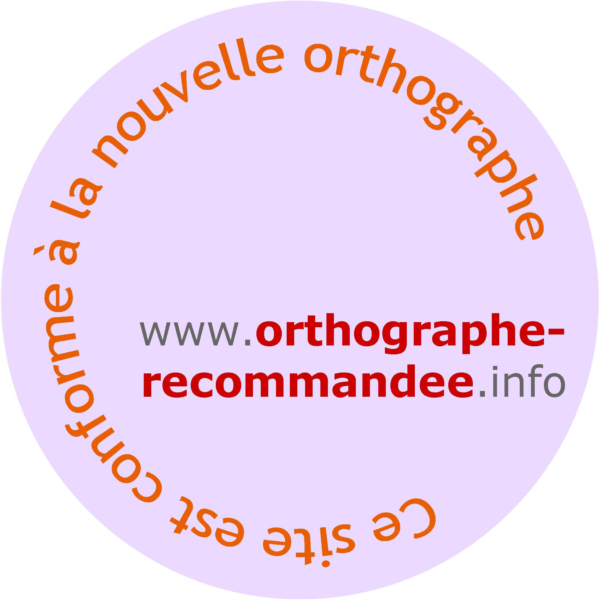 Logo nouvelle orthographe