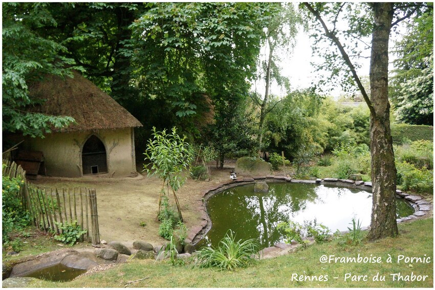 Rennes, Le parc du Thabor