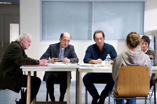 L'Apparition : Photo Bruno Georis, Elina Löwensohn, Vincent Lindon