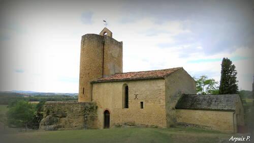 Eglise rupestre de Vals(Ariège)