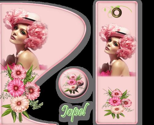 4 petits kits aux féminin par Jopel