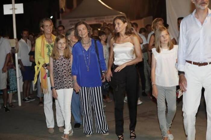 Vacances de la famille royale d'Espagne