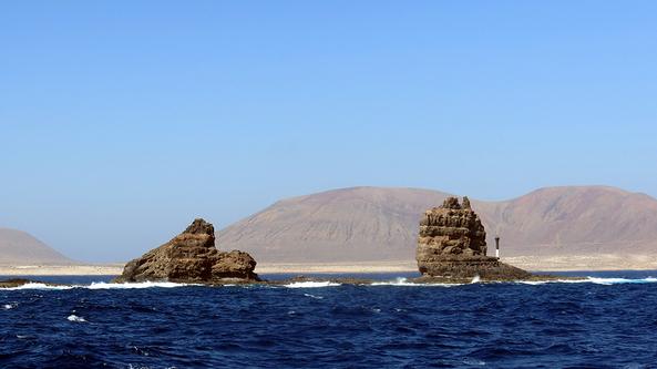 Lanzarote : La Graciosa - le départ