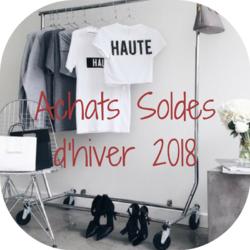 Achats soldes d'hiver 2018