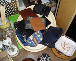 pochettes et portefeuilles