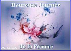LA JOURNEE DE LA FEMME