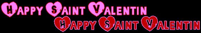 Des polices à gogo spécial Saint Valentin