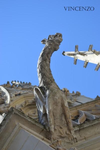 Normandie rouen palais de justice gargouille. jpg