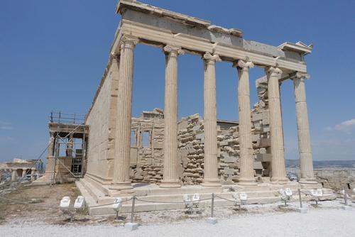 La Blanche cité d'Athènes