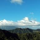 La Pelée et l'Observatoire du Morne des Cadets depuis le Morne Vert - Photo : Edgar