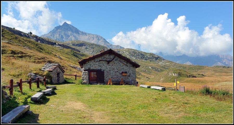 Evasion au Petit Mont-Cenis ( Hte Maurienne ) été 2016