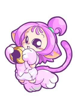 Loulou en petit chat