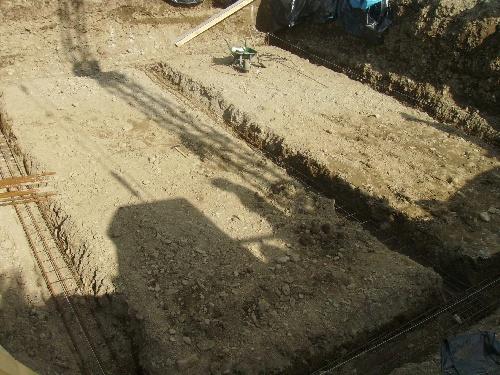creusage et ferraillage