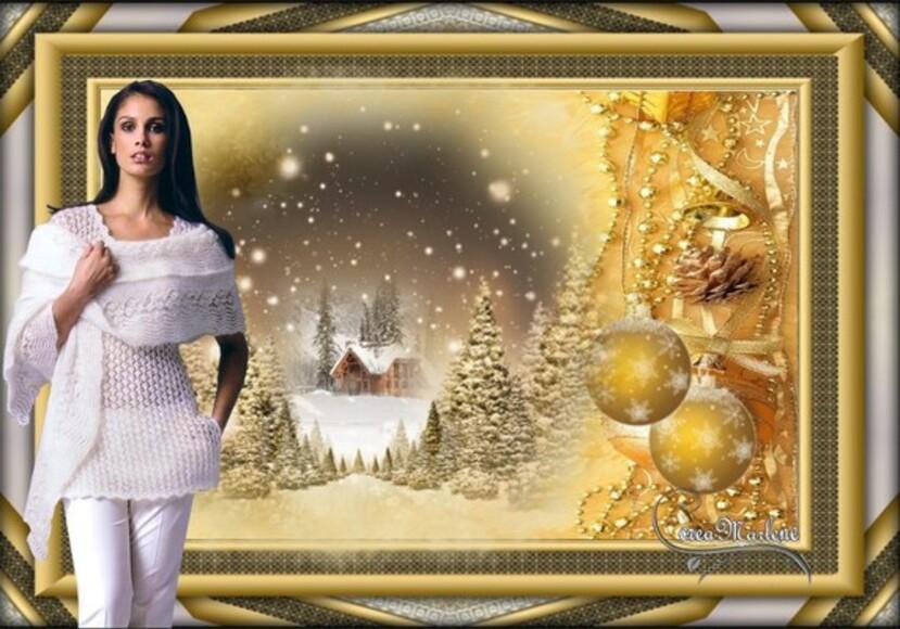 Merci Marlène pour ce beau de Noël