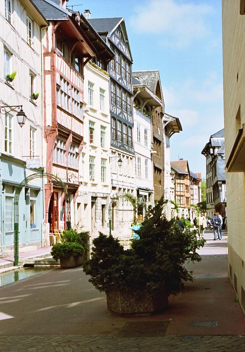 Rouen, la très belle...