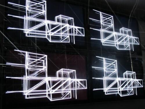 Nuit Blanche 10 3D bridge 2