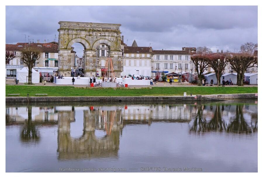 Saintes en Charente Maritime