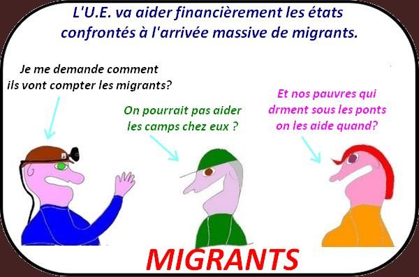 Les élus au Salon de l'agriculture, l'Europe et les migrants etc.. ce sont les infos du jeudi.